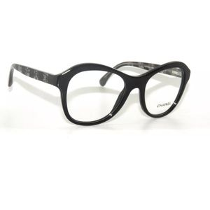 Chanel Glasses 3299 Black lace frame